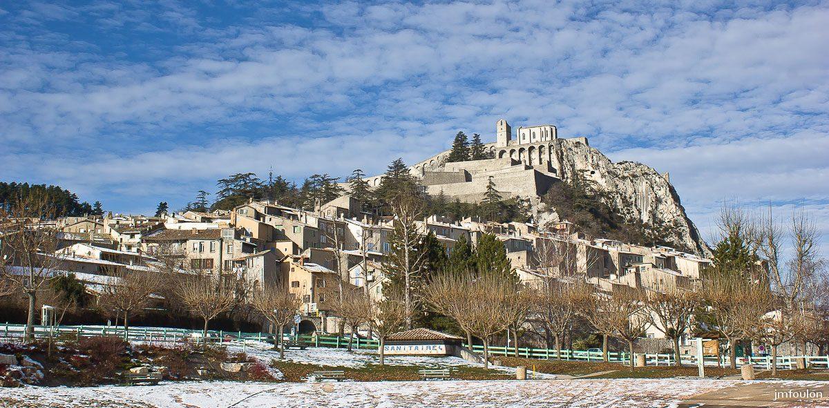 Que peut-on faire en plein hiver à Sisteron ?