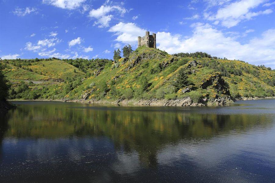 Zoom sur le Château d'Alleuze